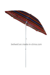 200cm Beach Umbrella Rainbow Umbrella pictures & photos