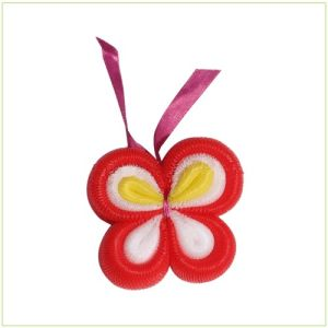 20g Butterfly Flower Bath Ball (with ribbon)