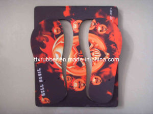 Blank Rubber Slipper for Printing pictures & photos
