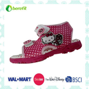 Canvas Upper and TPR Sole, Children′s Jelly Shoes pictures & photos