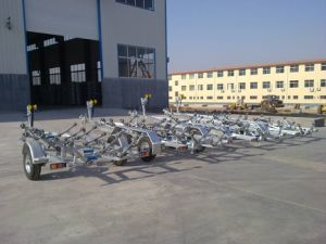 Single or Double Axle Hot DIP Galvanized Boat Trailers pictures & photos