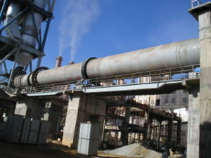 5.0*74m Rotary Kiln in Cement Production Line pictures & photos