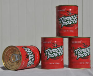 28%-30% Canned Tomato Paste 400g pictures & photos