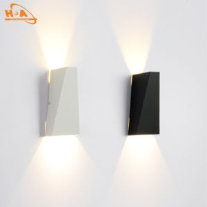New Good Design Dimmable10W Black Light Outdoor Wall Lamp pictures & photos