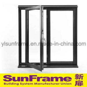 Safe Aluminium Casement Window System pictures & photos
