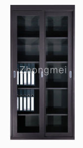 Glass Door Cabinet (LKD-0918GL)