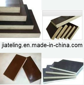 Black/Brown Film Faced Plywood for Construction (4`x8` 3`x6`) pictures & photos