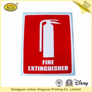 CO2 Fire Extinguisher Sensitive Adhesive Sticker pictures & photos