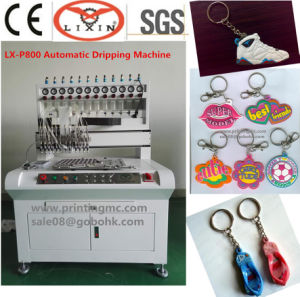Multi Color Rubber Key Chain Making Machine (LX-P800) pictures & photos