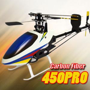 Aeolian Storm 450 PRO Carbon Fiber 3D Torque-Tube RC Helicopter (Align T-Rex Compat.)