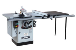 Woodworking Machine HW110LGE-50 Left Tilting Arbor Riving Knife 10 Table Saw pictures & photos