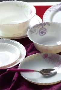 Opal Glassware Dinnerware Set