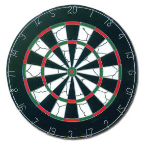 Professional Flocked Dartboard (FD-001) pictures & photos