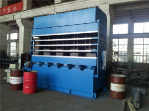 Tyre Tread Vulcanizing Press / Tyre Tread Vulcanizing Machine / Precure Tread Hydraulic Press pictures & photos