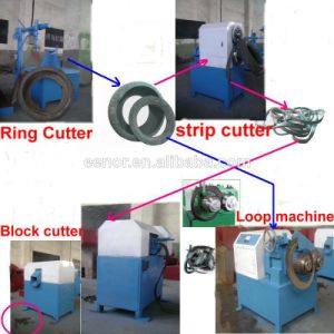 Hot Sell! Pollution -Free Waste Tyre Recyling/Waste Tire Shredder pictures & photos