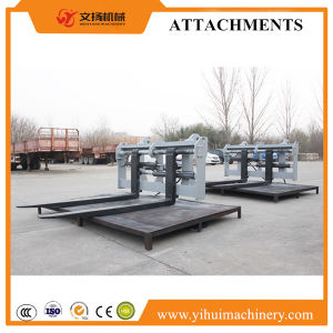 Skid Steer Loader Minin Loader Attachment Adjustable Pallet Fork Attachments pictures & photos