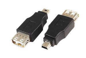 USB 2.0 a Female to Mini 5pin Male Adaptor (UA-04)