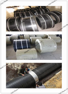 Electro Fusion Welding Joint for HDPE Drainage Pipes pictures & photos