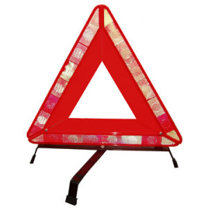 Reflective Road Warning Triangle for Road Safety pictures & photos