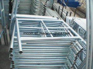5′x5′ (1524X1524) Glavanized Scaffold Mason Frames pictures & photos