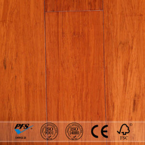 Golden Teak Stained Strand Woven Bamboo Flooring