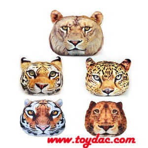 Digital Printed Stuffed Artificial Cat Head Cushion pictures & photos