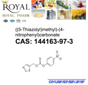 ((5-Thiazolyl)methyl) - (4-nitrophenyl) Carbonate CAS: 144163-97-3, Nct, 99.0% Min. pictures & photos