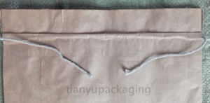 Square Bottom Paper Bag for Silicon Carbide 25kg pictures & photos