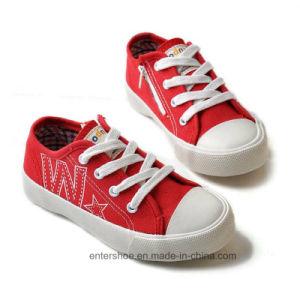 Canvas Kids Sneaker Shoes with Zipper (ET-WT170444K) pictures & photos