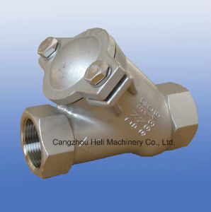 Stainless Stee Y-Spring Check Valve pictures & photos
