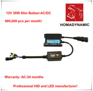 12V 35W Slim Ballast AC/DC, HID Ballast HID Xenon Ballast Work with HID Lamp pictures & photos