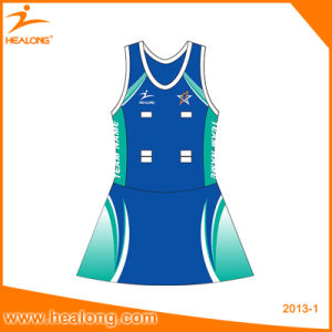 Healong Professional Custom Any Color Logo Netball Skirt Dresses Jerseys pictures & photos