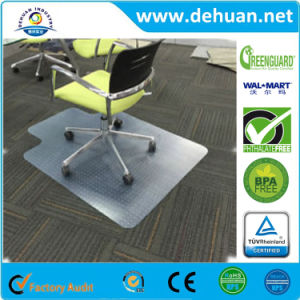 "PVC Chair Mat for Hard Floors 40"" X 48"" Multiple Sizes Available Clear, Multi-Purpose Floor Protector pictures & photos"
