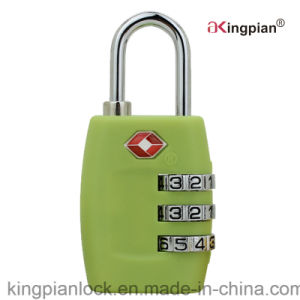 3 Digit Tsa Travel Pad Lock for Luggage and Bag pictures & photos
