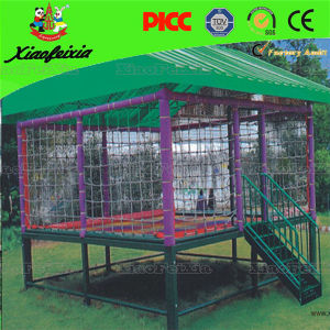 Most Popular Full Cover Kids Spring Trampoline pictures & photos