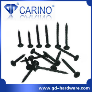(W622) Bugle Head Phillips Black Drywall Screw Drywall Screw pictures & photos