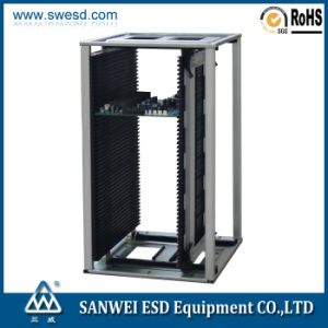 SMT PCB Antistatic ESD Magazine Rack (3W-9805301B1/B1G) pictures & photos