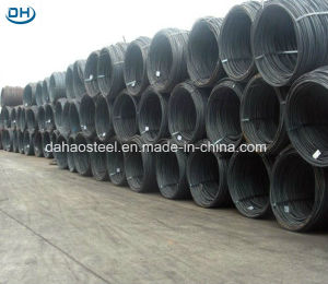 China Manufacturer Hot Rolled Steel Wire Rod in Coils pictures & photos