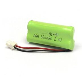 2.4V 500mAh AAA Ni-MH Battery Pack pictures & photos