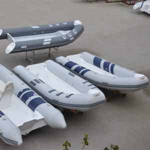 Liya 3-5m Hypalon Rigid Inflatable Boat China Rib Boat for Sale pictures & photos