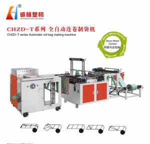 Full Automatic Rrolling Bag Making Machine pictures & photos