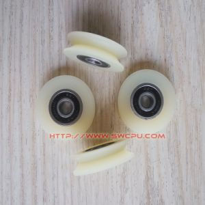 High Precision Nylon/POM Plastic Rope Guide Pulley/Wheel pictures & photos