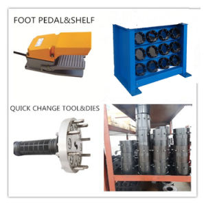 Hose Crimping Machine up to 2′′ Km-91h with Quick Change Tool pictures & photos