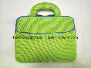 Fashionable Neoprene Add Mesh Material Laptop Bag with Handle pictures & photos