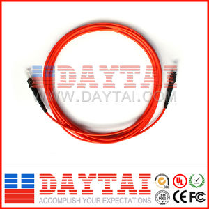 ST/PC to ST/PC Mm Fiber Optic Patch Cord pictures & photos