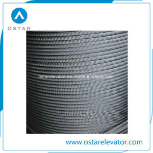 Elevator Spare Parts with Cheap Price Lift Steel Wire Rope (OS26) pictures & photos