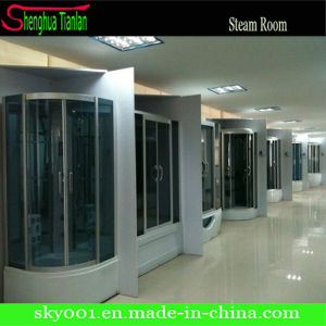 Fiber Tempered Glass Steam Shower Bath Room (TL-8889) pictures & photos