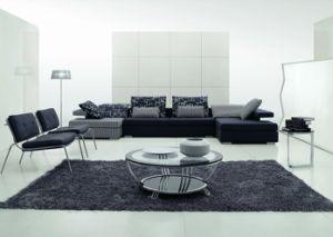 Chinese Furniture/Combination Sofa/Hotel Modern Sectional Sofa/Living Room Modern Sofa/Corner Sofa/Upholstery Fabric Modern Sofa (GLMS-013) pictures & photos