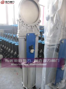 Stainless Steel Knife Gate Valve for Water Treatment pictures & photos