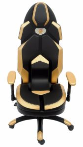 Golden Leather Racing Computer Chair Swivel Lift pictures & photos